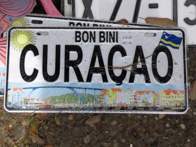 License-plate--Curacao