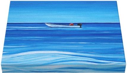 "<img src=""Ship to Shore Canvas Print.png"" alt=""Ship to Shore Nancy Leach"" />"